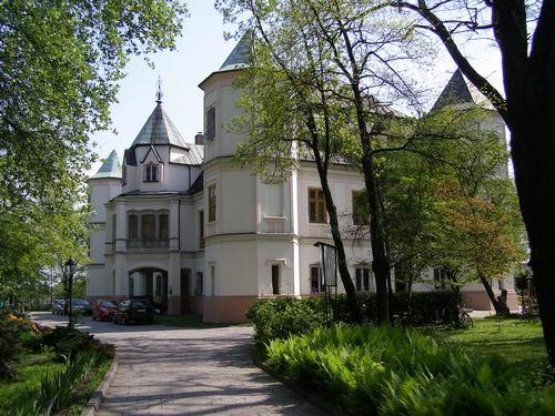 """Dom Pomocy Społecznej """"Różany Pałac"""" wKrzyżanowicach"""